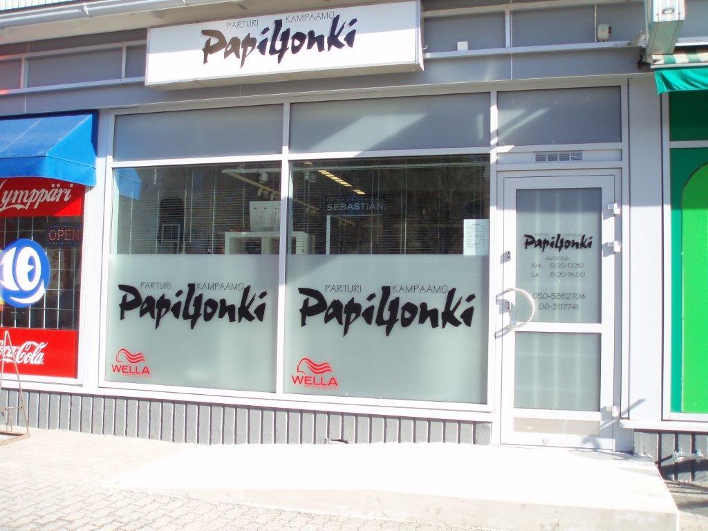 Parturi-kampaamo Papiljonki, Oulu