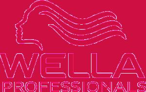 Käytämme Parturi-kampaamo Papiljongissa Wella Professionals -tuotteita